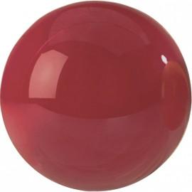 1ks karambolová koule Super Aramith 61,5mm vínově červená