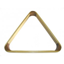 wooden triangle for balls 57,2mm