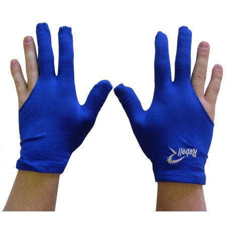 universal billiard gloves Rebell blue