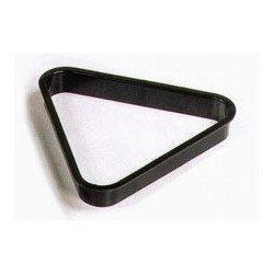 57,2mm. black plastic triangle