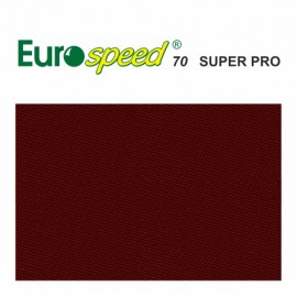 billiard cloth EUROSPEED 70 SUPER PRO burgundy 165cm