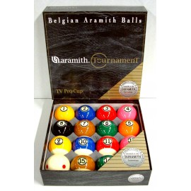 set of pool balls Aramith Tournament Tv Pro-Cup 57.2 mm