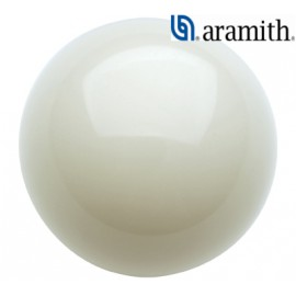 - Aramith cue ball is 54 mm