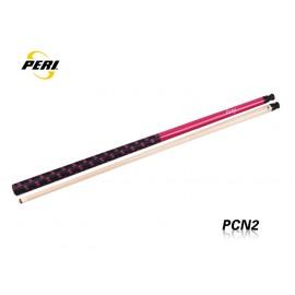 2-pc pool cue PERI Drakan pink