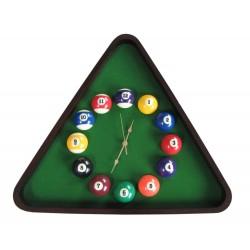billiard clock TRIANGL