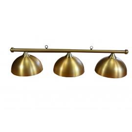 3- lamp RETRO GOLD