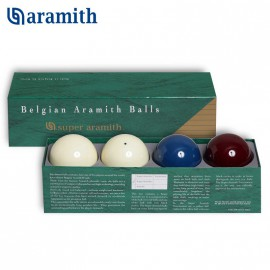 carom ball set Super Aramith 61,5mm (4ks)