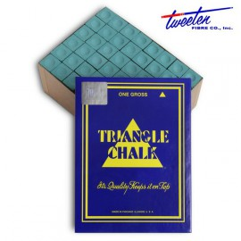 Triangle dark green chalk 144 pcs