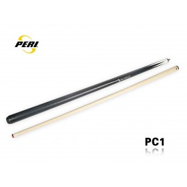 2-pc pool cue PERI colorfull black