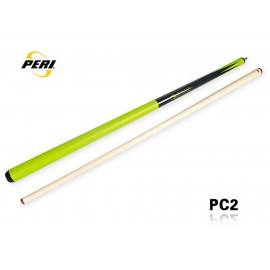 2-pc pool cue PERI Colorfull green