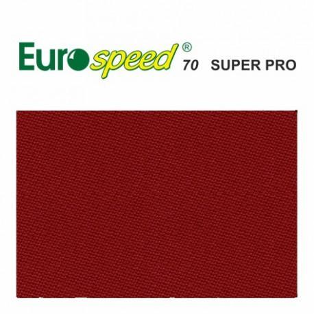 Kulečníkové sukno EUROSPEED 70 SUPER PRO Red 165cm