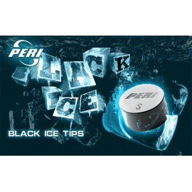 Slip on cue tip PERI BLACK ICE 11mm