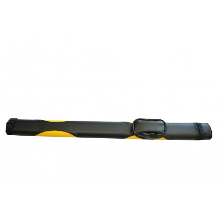 cue case black/yellow for 1 cue
