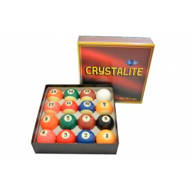 set of pool balls 57.2 mm Crystalite Pro Match