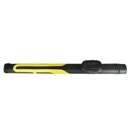 Cue case black/yellow