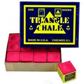Triangle red chalk 12 pcs
