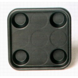 plastic tray for 4 balls