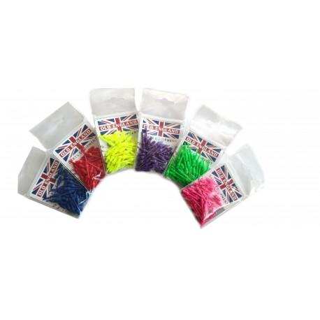 Dart tips 2BA, colour 50 pcs