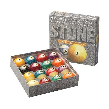 Sada kolí pool Aramith Stone collection 57,2 mm