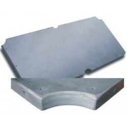 8´ billiard slate  2324 x 1206 x 22 mm (1pcs)