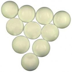 míčky do stolního fotbalu 34 mm bílé 10 ks