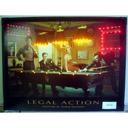 led billiard picture 810 x 610 mm