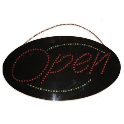 low voltage neon sign - OPEN
