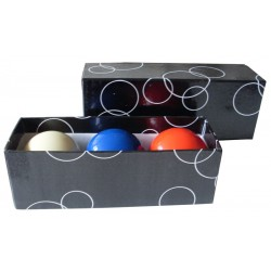Set of balls carom 61.5 mm (3 pieces)