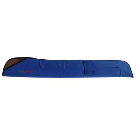 cue bag LUXURY blue colour with logo EUROSPRINT