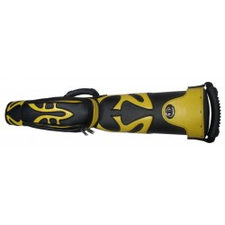 cue case black/yellow for 2 cues Russian pyramid