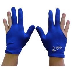 universal billiard gloves Rebell blue
